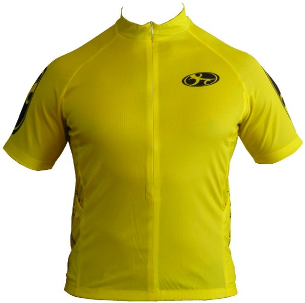 Bend It Speed Yellow Recumbent Jersey