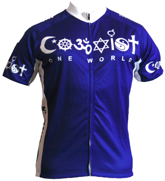 Bend It Coexist Recumbent Cycling Jersey