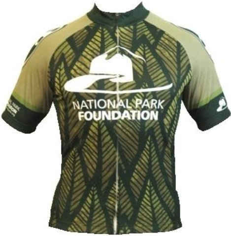 Bend It National Park Foundation Recumbent Cycling Jersey