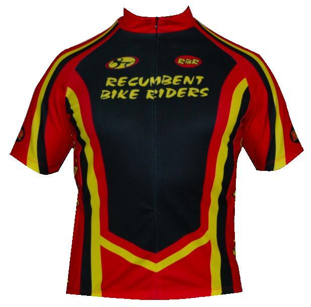 Bend It Recumbent Bike Riders Jersey