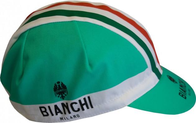 Bianchi Milano Neon Summer Cycling Cap