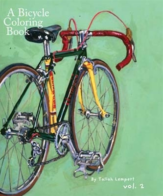 A Bicycle Coloring Book Volume 2