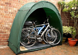 & The Original Tidy Tent Bike Cave X Modular Bicycle Storage System