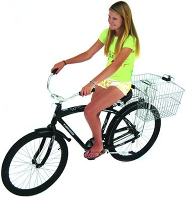 Bike Balance Bicycle Basket Adapter
