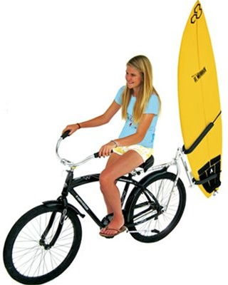 Bike Balance Bicycle Surfboard Rack