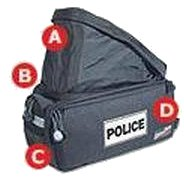 Bike Pro USA Custom Police Rack Pack