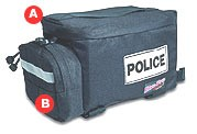 Bike Pro USA Standard Police Rack Pack