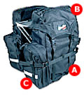 Bike Pro USA Ascent Panniers E31