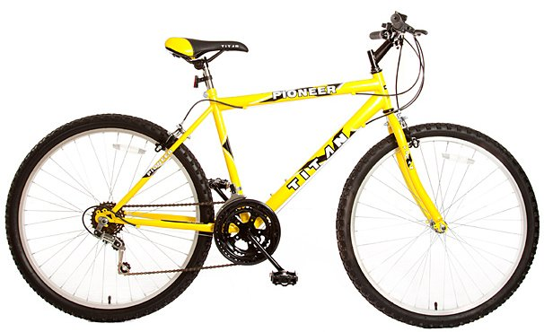 "Titan Pioneer Hardtail Men's 26"" 12 Speed Mountain Bicycle"