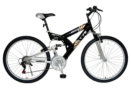 "Titan Punisher 26"" Dual Suspension 21 Speed All Terrain Bicycle"