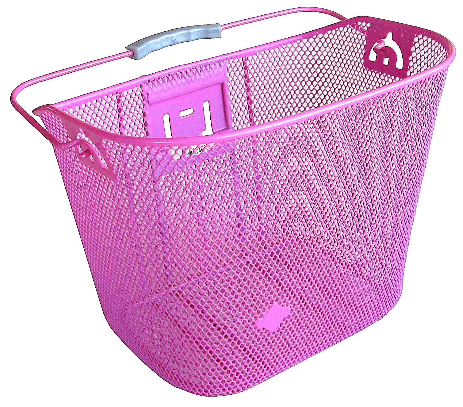 Biria CITY EXPRESS KLICK Pink Bicycle Basket