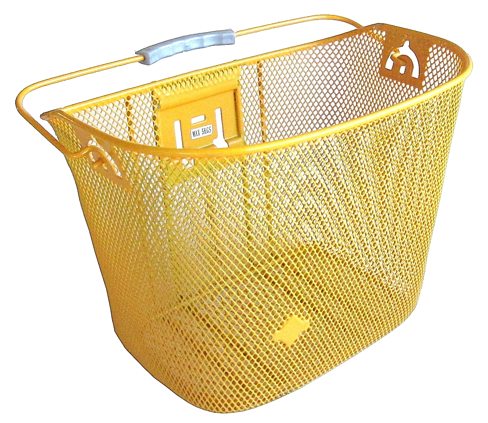 Biria CITY EXPRESS KLICK Yellow Bicycle Basket