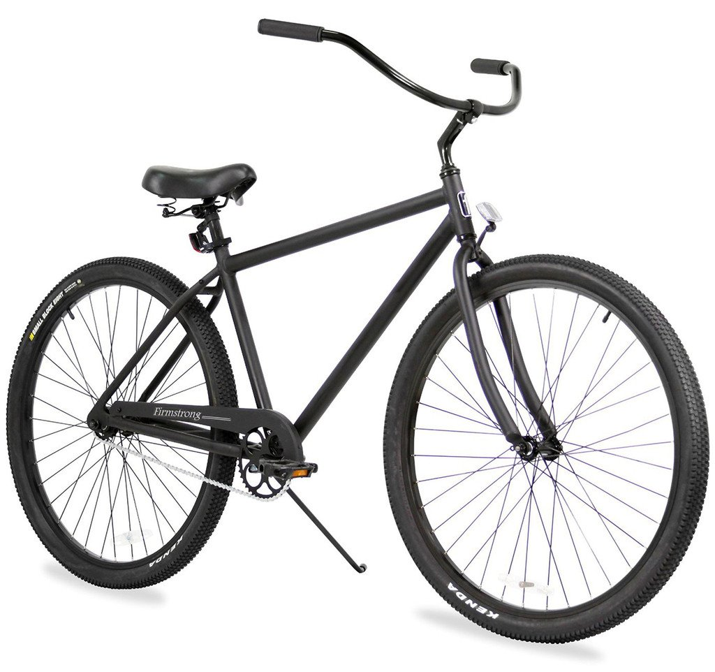 "Firmstrong Black Rock Single Speed 29"" Beach Cruiser Bike"