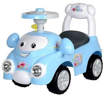 Best Ride on Cars Speedy Push Car Blue
