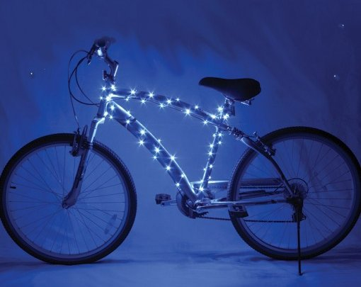 Cosmic Brightz Bicycle Lights Blue