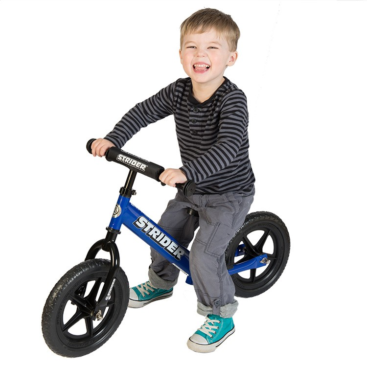 Strider 12 Sport No Pedal Balance Bike Blue