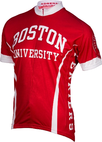 Boston University Terriers Cycling Jersey Large