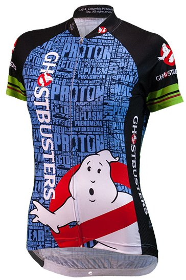 Brainstorm Gear Ghostbuster Slimer Women's Cycling Jersey
