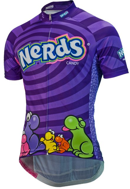 Brainstorm Gear Nestle Nerds Candy Mens Cycling Jersey