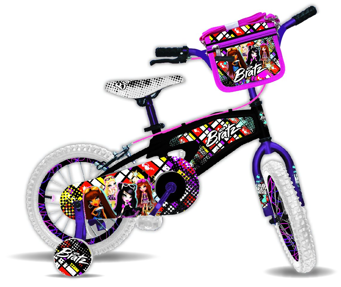 Bratz 14 Black Bike