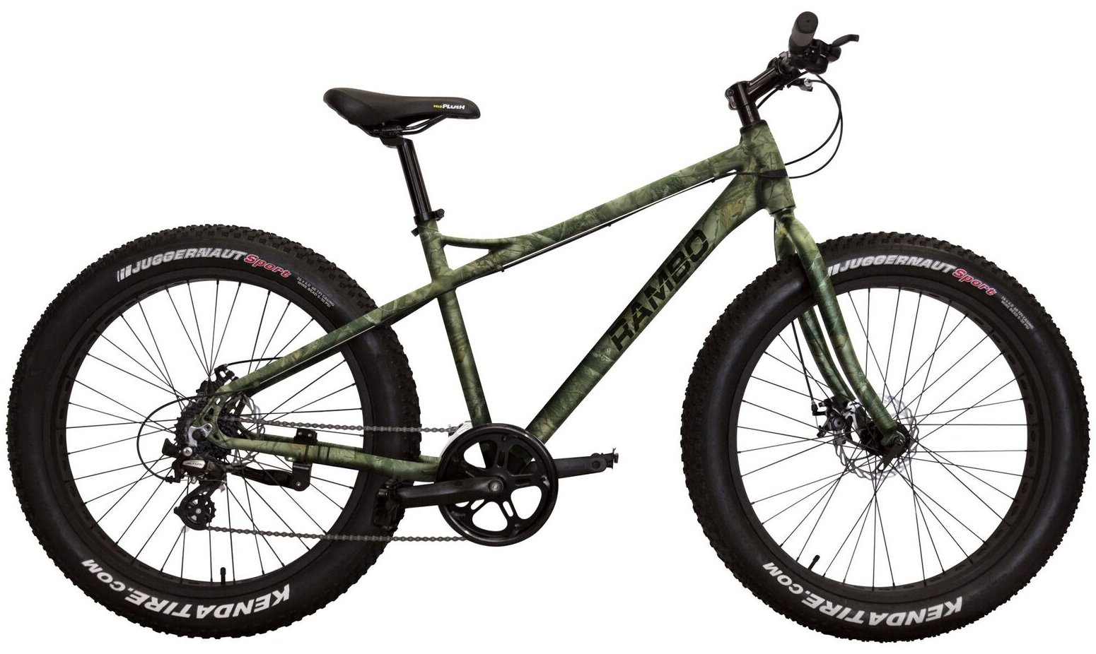 Rambo R35c Camo Fat Tire Bike