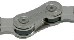 Wippermann Connex 10s8 10 Speed Nickel Plated Bicycle Chain