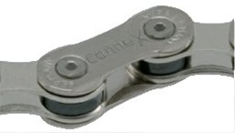 Wippermann Connex 908 9 Speed Nickel Coated Steel Bicycle Chain