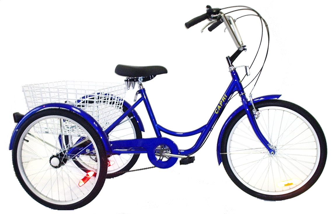 6 speed adult trycycle