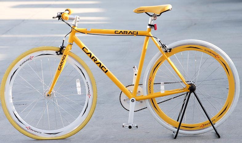 Caraci Bikes F20 Steel Fixie Bicycle