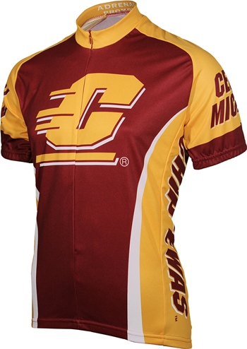 Central Michigan University Cycling Jersey Small