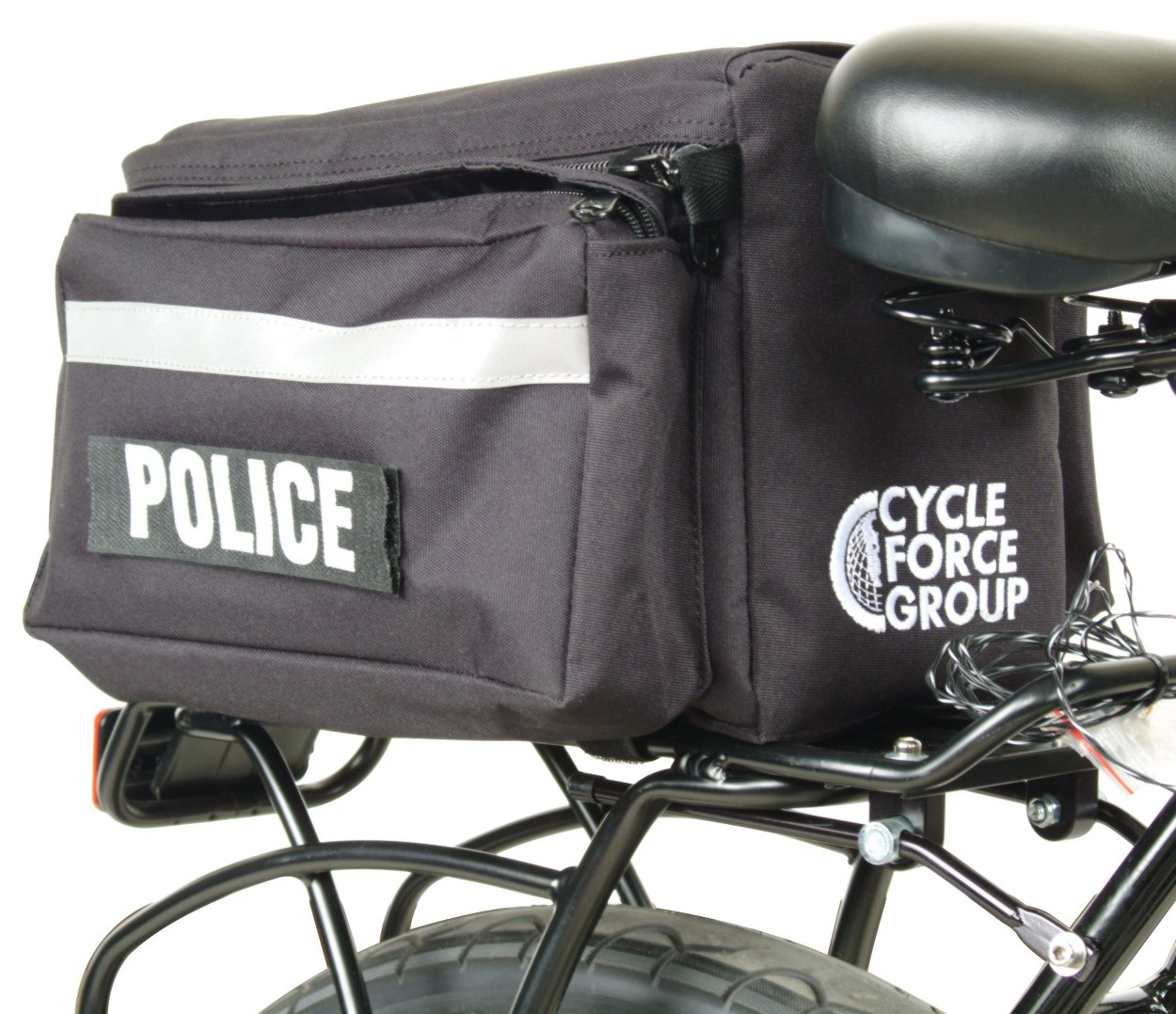 Cycle Force Pursuit Trunk Law Enforcement Rear Rack Bicycle Bag