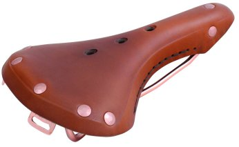 M Wave Original S.L. Genuine Leather Racing Saddle