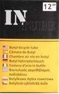 "(4 Tube Set) InTube 12"" Bicycle Inner Tubes"