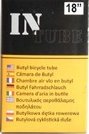 "(4 Tube Set) InTube 18"" Bicycle Inner Tubes"