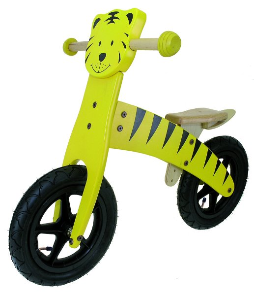 M Wave Wooden Tiger Running Bicycle