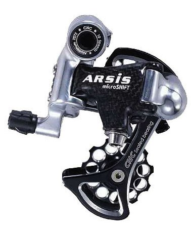 microSHIFT ARSIS 10 Speed Short Cage Rear Derailleur
