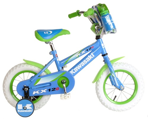 "Kawasaki Girls K12 12"" Bicycle"