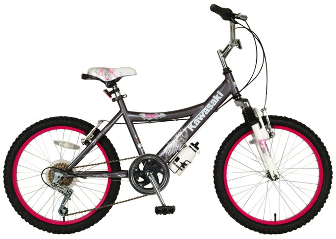 "Kawasaki K20G Girls 20"" Mountain Bike"