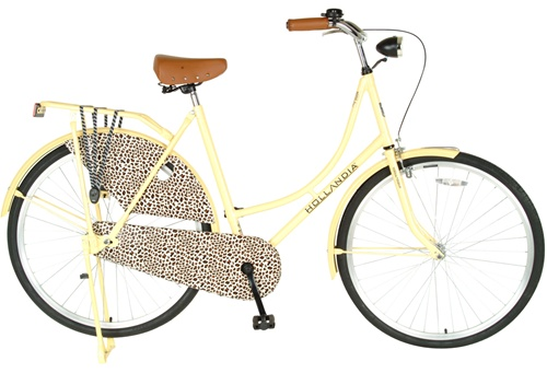 Hollandia Dutch Style City Leapord 28 Women's Single Speed Bicycle