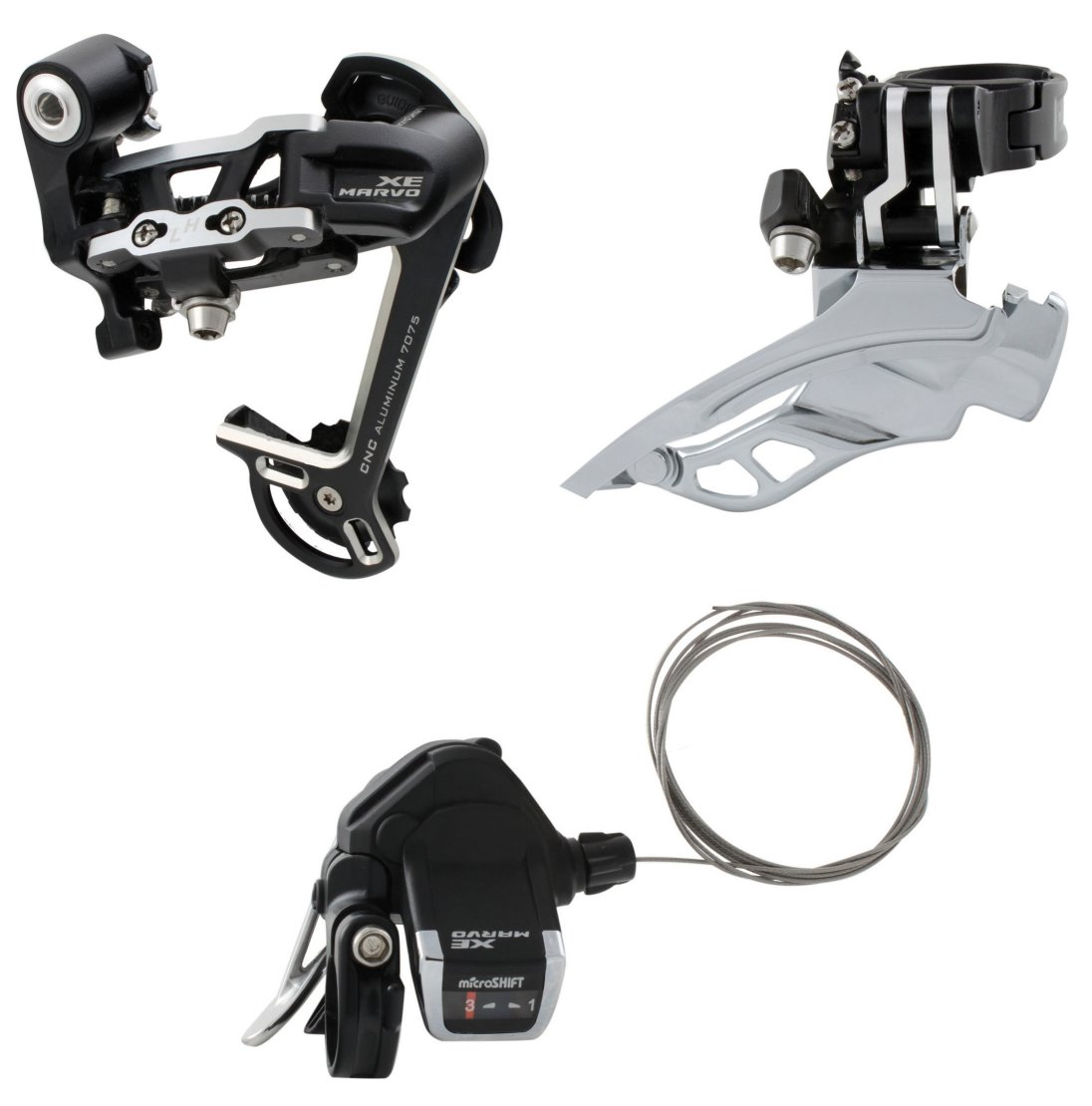 microSHIFT Marvo 27 Speed MTB Group
