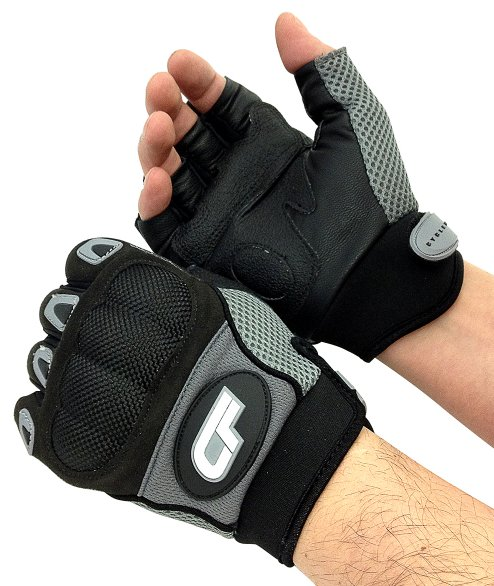 Cycle Force Half Fingered Tactical Police Bicycle Gloves
