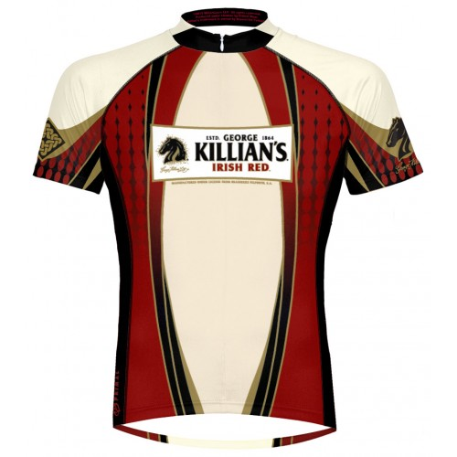 Primal Wear George Killians Irish Red Lager Mens Cycling Jersey Small