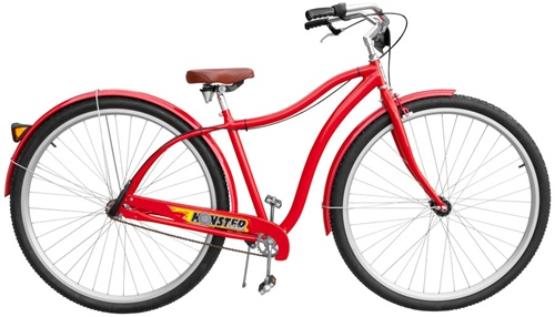 Coker Red Monster Cruiser Mens Bicycle