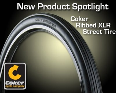 Coker Ribbed Unicycle Tire 36 X 2 1/4