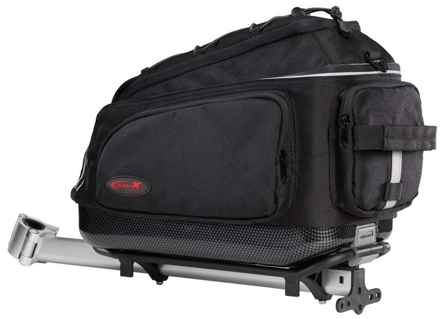 Ravx Bicycle Commuter Clip On Bag and Rack System
