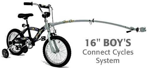 Connect Cycles Boys Tow Ready Bike