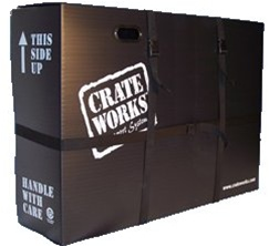 Crate Works Plastic Collapsible Bike Box Pro XL C