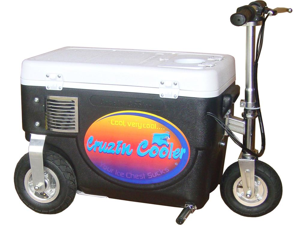 Cruzin Cooler Scooter 300w Black
