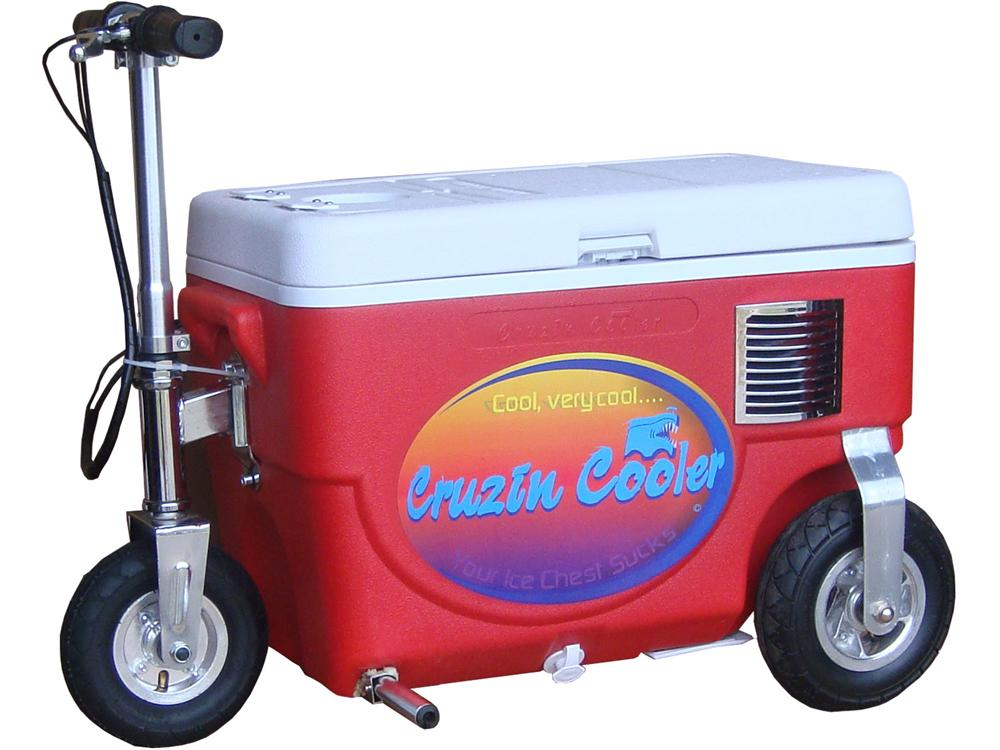 Cruzin Cooler Scooter 1000w Red