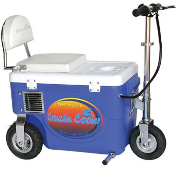 Cruzin Cooler Scooter 300w Blue